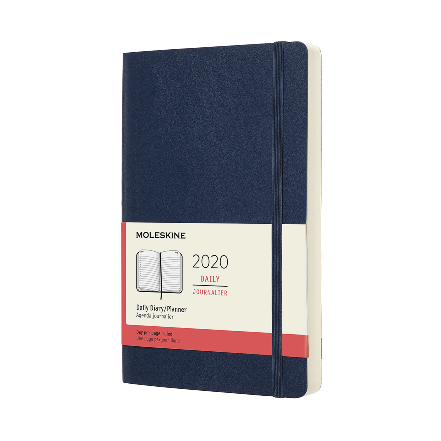 SAPPHIRE BLUE DAILY SOFTCOVER 2020 DIARY