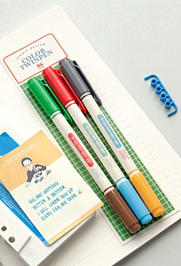 Colour Twin Pen Set