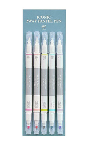 Two Way Pastel Pen Set