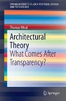 Architectural Theory: What Comes ...
