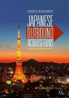 Japanese Outbound Acquisitions:...