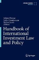 Handbook of International Investment...