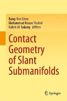 Contact Geometry of Slant Submanifolds