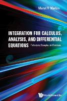 Integration For Calculus, Analysis,...