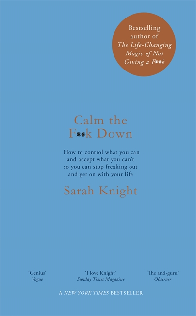 Signed Copy - Calm the F**k Down