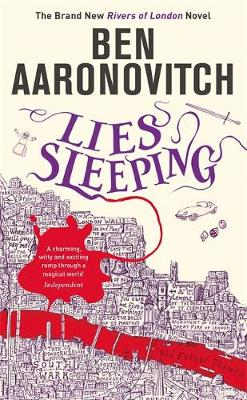 Signed First Edition - Lies Sleeping