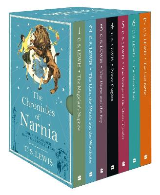 The Chronicles of Narnia box set (The Chronicles of Narnia)