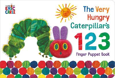 The Very Hungry Caterpillar Finger Puppet Book 123 Counting Book