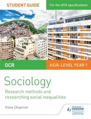 OCR A Level Sociology Student Guide 2: Researching and understanding social inequalities