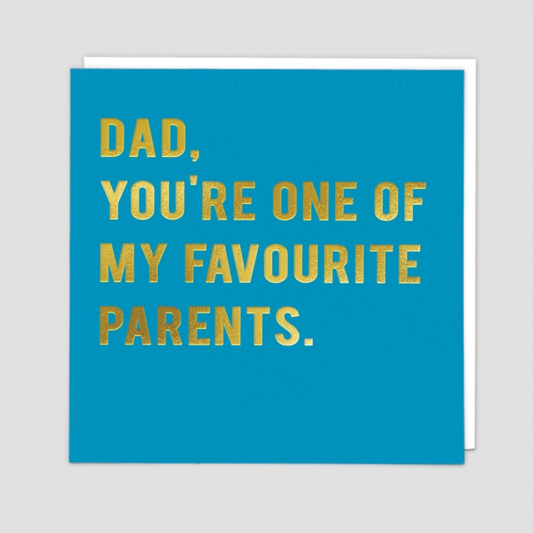 Dad, Favourite Greeting Card