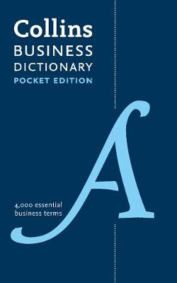 Pocket Business English Dictionary  (Collins Business Dictionaries)