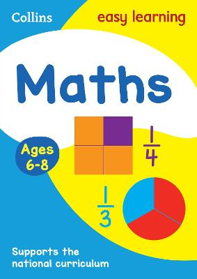 Maths Ages 6-8: Ideal for home learning (Collins Easy Learning KS1)