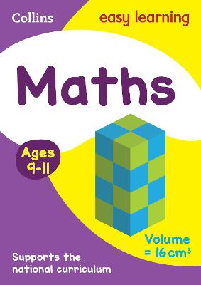 Maths Ages 9-11: Ideal for home learning (Collins Easy Learning KS2)