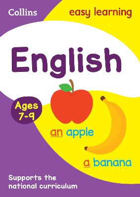 English Ages 7-9: Ideal for home learning (Collins Easy Learning KS2)