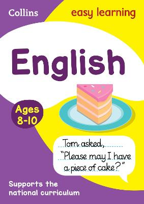 English Ages 8-10: Ideal for home learning (Collins Easy Learning KS2)