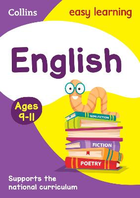 English Ages 9-11: Ideal for home learning (Collins Easy Learning KS2)