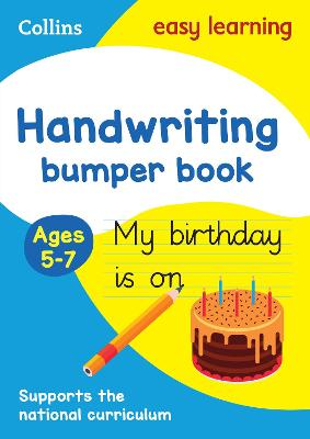 Handwriting Bumper Book Ages 5-7: Ideal for home learning (Collins Easy Learning KS1)