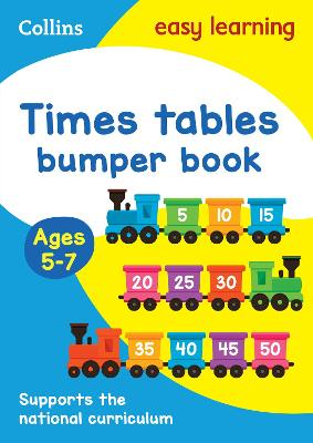 Times Tables Bumper Book Ages 5-7: Ideal for home learning (Collins Easy Learning KS1)