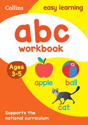 ABC Workbook Ages 3-5: Prepare for Preschool with easy home learning (Collins Easy Learning Preschool)