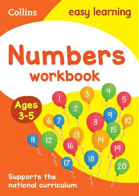 Numbers Workbook Ages 3-5: Prepare for Preschool with easy home learning (Collins Easy Learning Preschool)