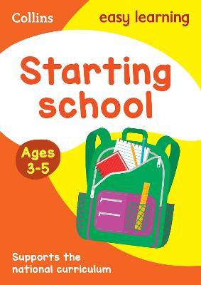 Starting School Ages 3-5: Ideal for home learning (Collins Easy Learning Preschool)