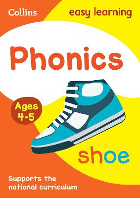 Phonics Ages 4-5: Ideal for Home Learning (Collins Easy Learning Preschool)