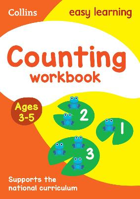 Counting Workbook Ages 3-5: Prepare for Preschool with easy home learning (Collins Easy Learning Preschool)