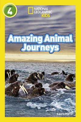Amazing Animal Journeys: Level 4 (National Geographic Readers)