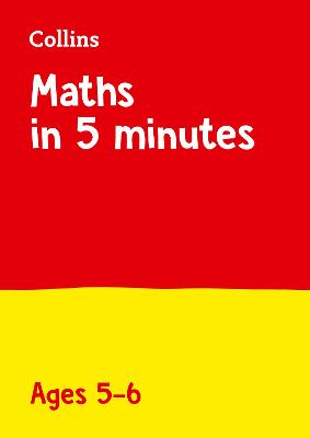 Letts Maths in 5 Minutes a Day Age 5-6 (Letts Maths in 5 Minutes a Day)