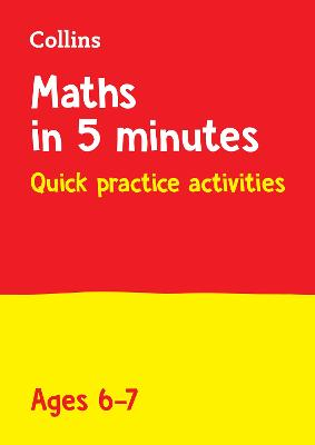 Letts Maths in 5 Minutes a Day Age 6-7 (Letts Maths in 5 Minutes a Day)