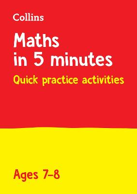 Letts Maths in 5 Minutes a Day Age 7-8 (Letts Maths in 5 Minutes a Day)