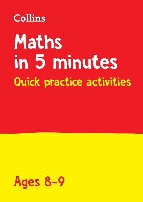 Year 4 Maths in 5 Minutes (Age 8-9): Ideal for use at home (Collins KS2 Practice)