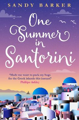 One Summer in Santorini (The Holiday Romance, Book 1)