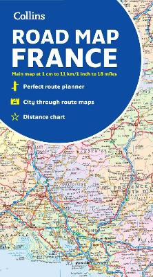 2022 Collins Map of France