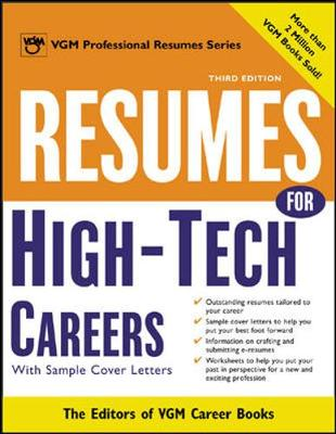Resumes for High Tech Careers: With Sample Cover Letters
