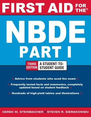 First Aid for the NBDE Part 1, Third Edition