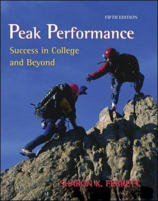 Peak Performance: Success in College and Beyond: With Online Access Card