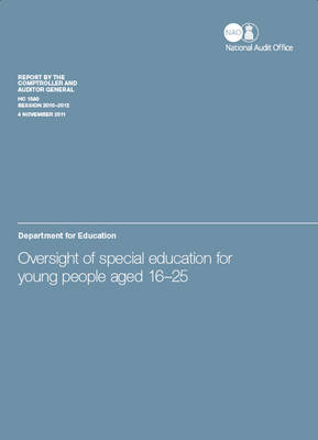 Oversight of Special Education for Young People Aged 16-25: Department for Education