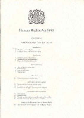 Human Rights Act 1998: Elizabeth II. Chapter 42
