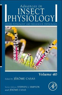 Spider Physiology and Behaviour: Physiology: Volume 40