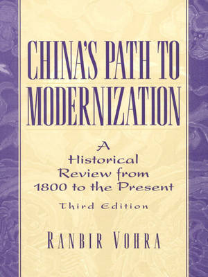 China's Path to Modernization: A Historical Review from 1800 to the Present