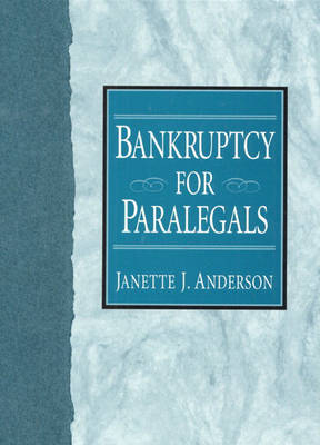 Bankruptcy for Paralegals