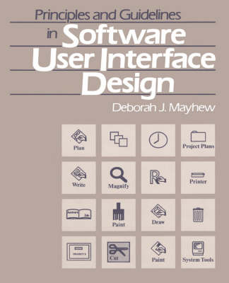 Principles and Guidelines in Software User Interface Design