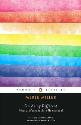 On Being Different: What It Means to Be a Homosexual
