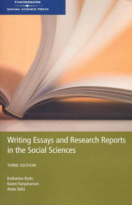 Writing Essay and Research Reports