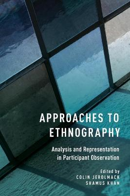 Approaches to Ethnography: Analysis and Representation in Participant Observation