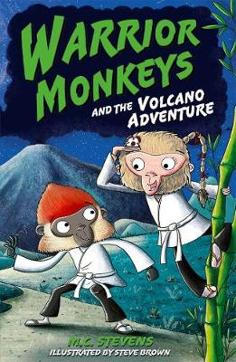 Warrior Monkeys and the Volcano Adventure
