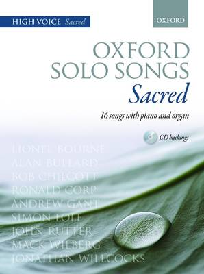 Oxford Solo Songs High Voice + Cd
