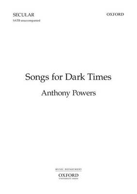 Songs for Dark Times: Vocal Score