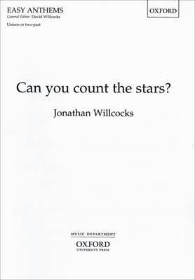 Can You Count the Stars?: Unison/2-part Version